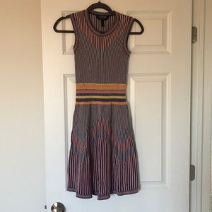 BCBGMAXAZRIA multicolor dress